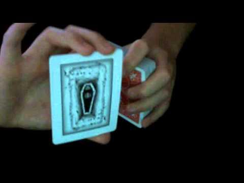 Gaff Deck Coffin Card Gaff Deck Trick