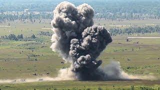 F-16s Drop Live Bombs