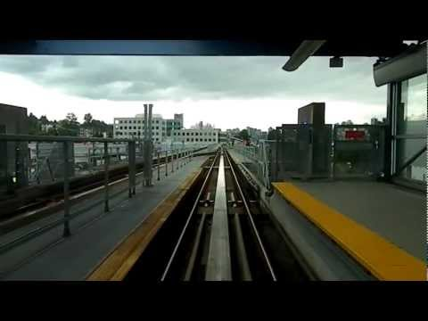 Vancouver Skytrain - Rupert Street to Commercal Broadway Via VCC Clark Part ...