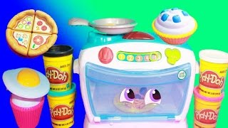 NEW Leap Frog Number Lovin' Oven Learning Toy Baking Play-Doh Food Spaghetti Cupcakes Pizza All Toy