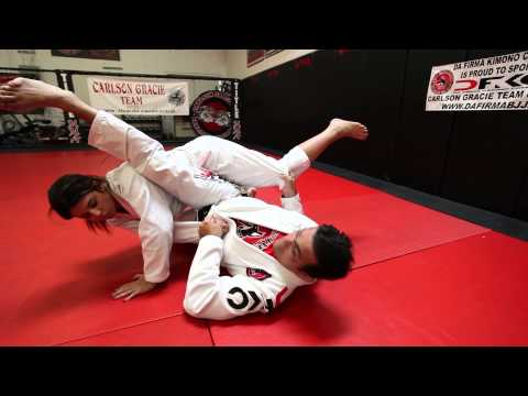 Jiu Jitsu Techniques - Armbar Sweep From The Guard Image 1