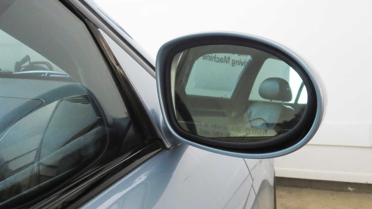 BMW E39 M5 Side Mirror Glass Replacement DIY - YouTube