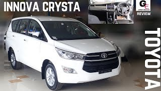 2018 Toyota Innova Crysta 2.4 GX | base model | touch screen infotainment | detailed review !!!!!