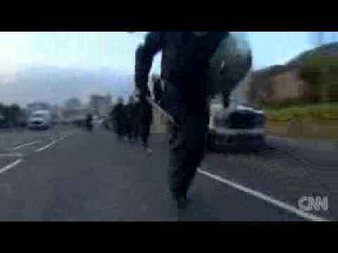 Rioting in Northern Ireland in 2013 (IRA, Union) - Breaking News.3gp