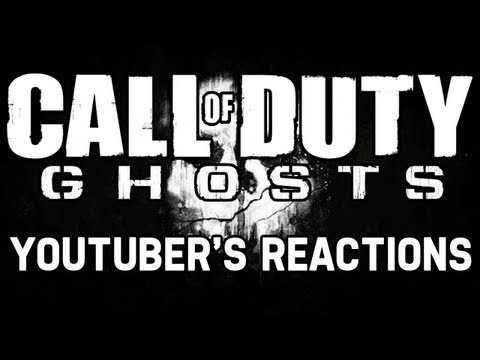 Official Call of Duty Ghosts Reveal Trailer: YouTuber's Reactions (Parody)