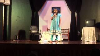 Vaishnavi Hindi Diwas Song in Abu Dhabi