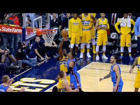 Faried Blocks Westbrook and Sends Game to OT | 11.25.16