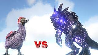OP Dodo Level 1,000,000 vs Alpha King Titan || ARK: Survival Evolved || Cantex