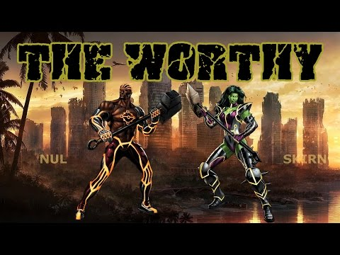 Marvel Avengers Alliance PVP: The Worthy (Skirn and Nul)