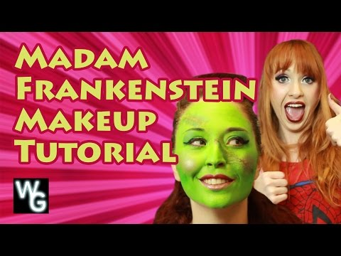 Makeup Tutorial for Madam Frankenstein
