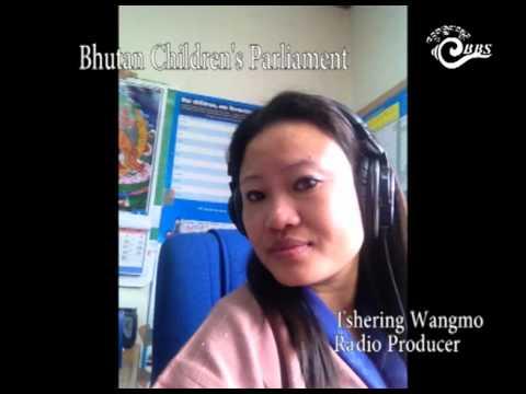 First Session of Bhutan Children's Parliament
