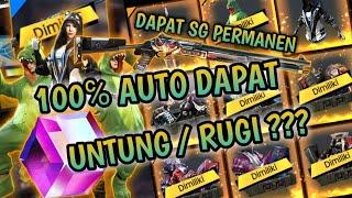 KENAPA DENGAN GARENA ??? LUCK ROYALE 100% DAPET & BUKA 20 CRATE SKIN ANNIHILATOR FREE FIRE INDONESIA
