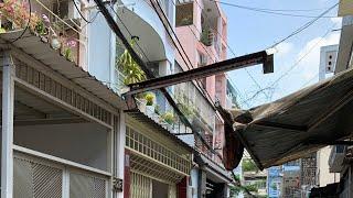 Bán nhà hẻm 87 Nguyễn Đình Chính quận Phú Nhuận, sổ hông riêng, giá 3 tỷ 8