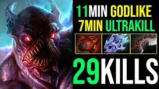 7Min=Ultrakill [Night Stalker] BACK TO CARRY META 29Kills By Kingrd 7.19b | Dota 2 FullGame