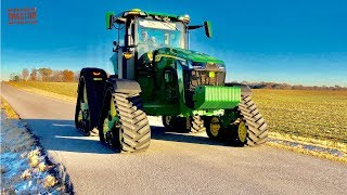 How Fast is a JOHN DEERE 8RX Tractor?