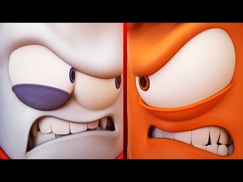 Funny Animated Cartoon | Spookiz Season 1 - Silent Battle | 스푸키즈 | Cartoon for Kids