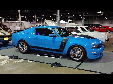2010 Ford Mustang Mach1 Custom & Engine Start @ World of Wheels on My Car Story with Lou Costabile