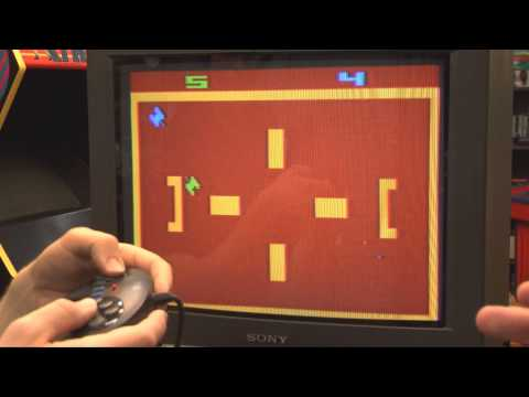 Classic Game Room - TANK-PLUS review for Atari 2600