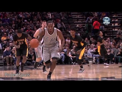Kawhi Leonard Full Highlights Spurs vs Lakers 2015.01.23 - 15 Pts, 14 Reb, 3 Ast - Project Spurs