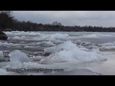 5/11/2013 Lake Mille Lacs Non Fishing Opener / Ice Covered Lake B-Roll