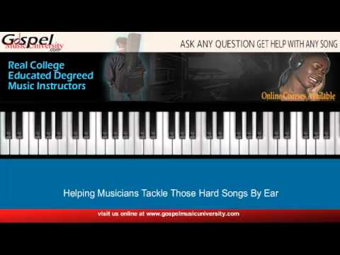 I Choose To Worship By Wes Morgan  Piano Tutorial  -  Part 2 video