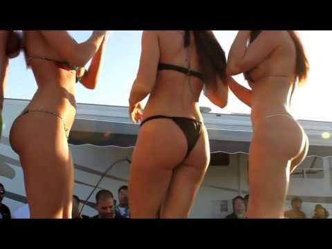 Nicole Hampton Jessica Barton Samantha Harris Bikini Contest