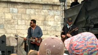 Grandma's Hands Band performing Lovely Day by Bill Withers at Newport Folk Festival