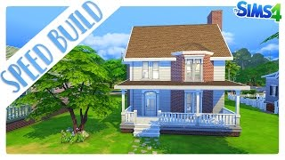 The Sims 4 | Speed Build: Base Game Family Home. [Gameplay ITA]