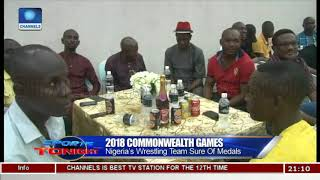Nigeria's Wrestling Team Sure Of Medals At 2018 Commonwealth Games |Sports Tonight|