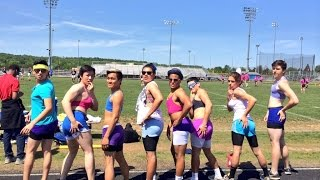 Funny Dance Routine By Park View Seniors Powderpuff Cheerleaders