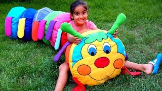 Esma pretend play toy caterpillar for kids video