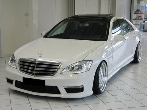 Mercedes S Class W221 Tuning Body Kit Youtube