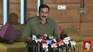 Dmk and Admk can not compete alone in this election – Anbumani Ramadoss