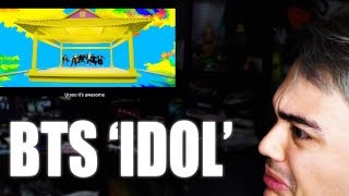 BTS - IDOL MV Reaction [HAD TO WATCH IT MULTIPLE TIMES]