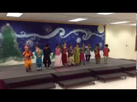 Stratford School Students Celebrate India through a Bollywood Dance