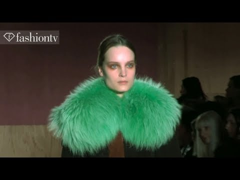 Roksanda Ilincic Fall/Winter 2013-14 | London Fashion Week LFW | FashionTV