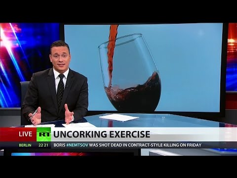Glass of red wine has same health benefits of exercise – study