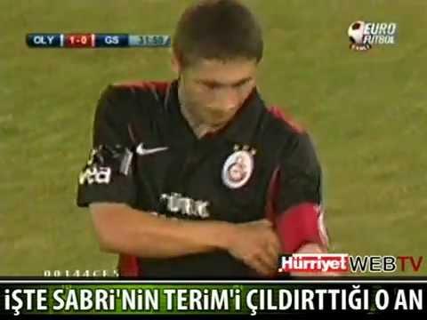 SABRİ FATİH TERİM'İ ÇILDIRTTI !