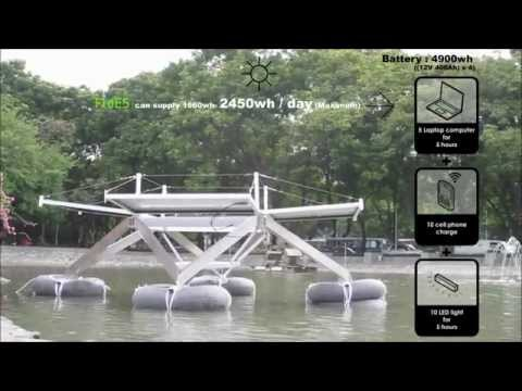 FLoES (Floating Energy Station) by ENERGY MEET