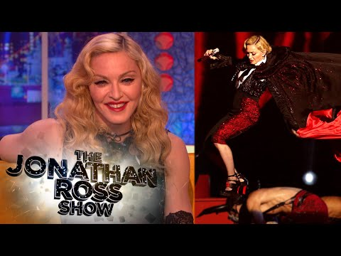 Madonna's Fall At The Brit Awards - The Jonathan Ross Show video