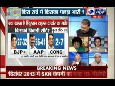 Tonight with Deepak Chaurasia: Result of 7 opinion poll