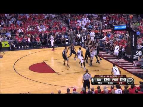 Kawhi Leonard Full Highlights Spurs vs Blazers Game 4 (5/12/2014) 11 Pts, 7 Reb - Project Spurs