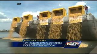 Thousands of rubber ducks to hit Ohio River for Ken-Ducky Derby