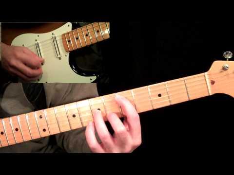 Cross Picking - Chordal Picking Guitar Lesson Ala Al Dimeola