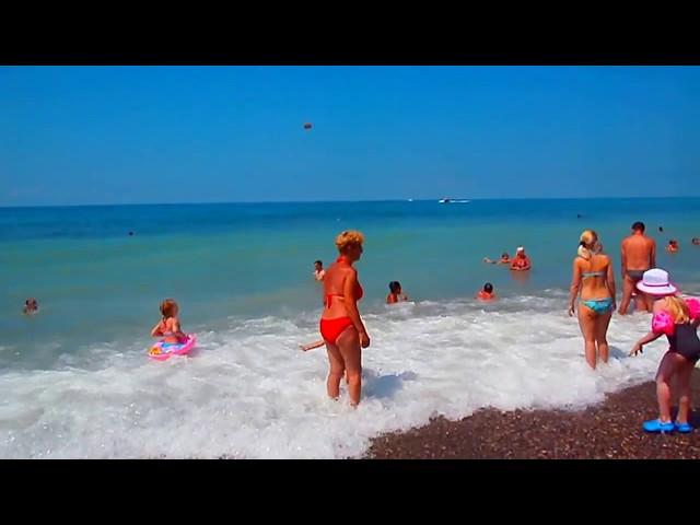 """Где купаются местные жители? Лазаревское, """"Свирский"""" пляж"""