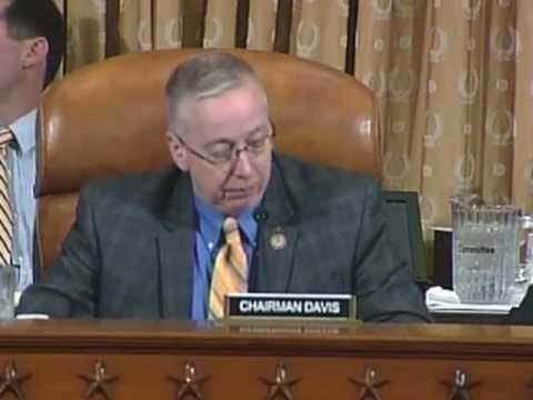 Congressman Geoff Davis' Opening Statement at Hearing on Unemployment Benefit Reforms