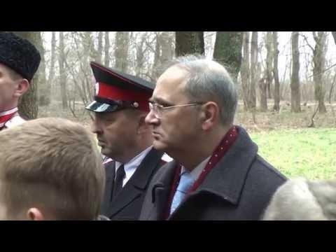 Видео митинга, посвященного освобождению Краснодара