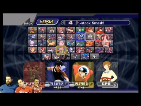 Super Smash Bros. Brawl Project M Patt Edition .05 - 3DS / Wii U characters and more