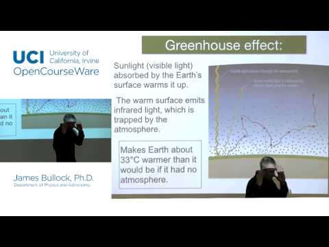 Physics 20E. Life in the Universe. Lec. 6: Earth's Atmosphere and Climate
