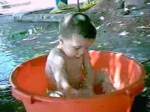 Baby Youssef Nude In His Small Swiming Pool video